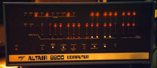 altair 8800 home computer