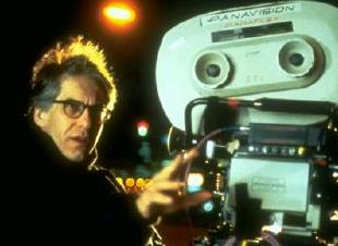David Cronenberg directing Crash