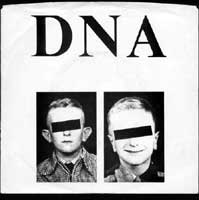 DNA 7inch on Medical Records (1978)