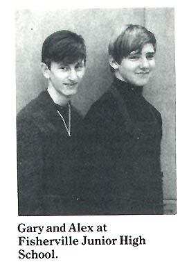 Geddy Lee Alex Lifeson Jr. High