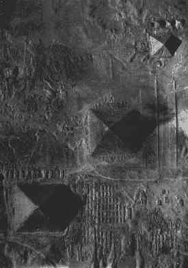 Giza aerial - Orion formation