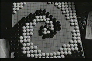 a perfect game of Go...