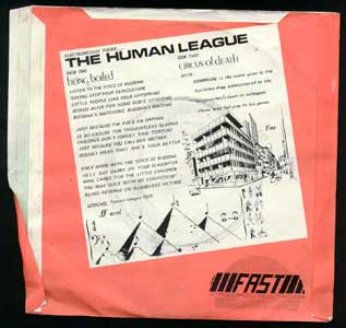 The Human League - Being Boiled/Circus Of Death 7 on Fast (1978)