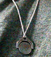 Masonic Pendant side A