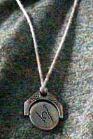 Masonic Pendant side B