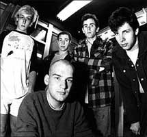 Minor Threat practice space 1983 - Baker, MacKaye, Hansgen, Nelson, Preslar