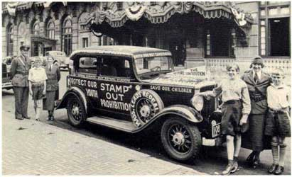 Stamp Out Prohibition - don't we ever learn?