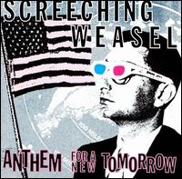 Screeching Weasel - Anthems For A New Tomorrow 12inch on Lookout! (1993)