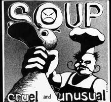 Soup - Cruel And Unusual 7 on Very Small Records