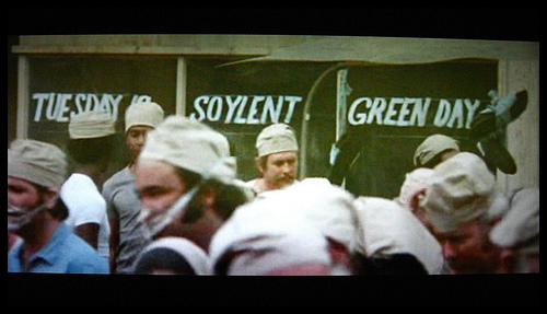 tuesday is soylent green day