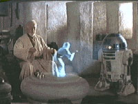 Obi-Wan, you're my only hope...