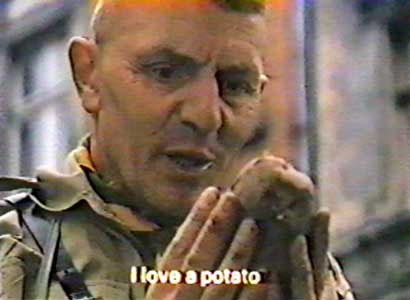 Tin Drum - I love a potato...